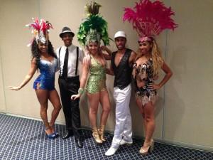 show de passistas fervo samba show